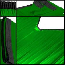Backdrop grün Faltenband Dekomolton