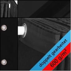 Backdrop schwarz geöst  600gr./qm
