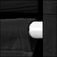 Backdrop dkl.grau mit Hohlsaum - Dekomolton