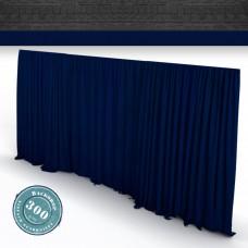 Vorhang marine Faltenband 300gr./qm