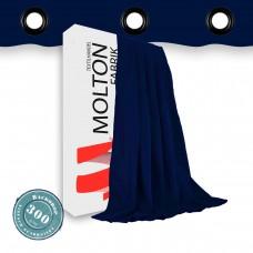 Vorhang Farbe marine geöst 300gr./qm
