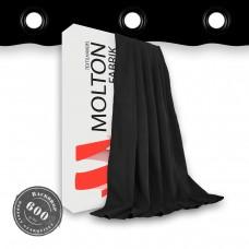 Vorhang schwarz geöst  600gr./qm