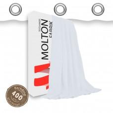 Kalmuck - Vorhang weiss geöst - Gewicht: 400 g/m²