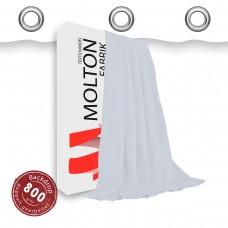 Kalmuck - Vorhang weiss geöst - Gewicht: 800 g/m²
