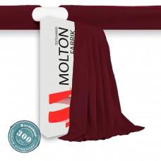 Vorhang Bordeaux Hohlsaum GW.:300gr./qm