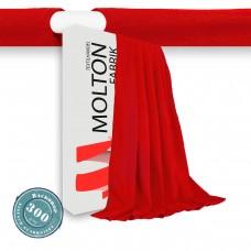 Vorhang rot Hohlsaum Gewicht 300gr./qm