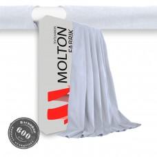 Vorhang weiss Hohlsaum 600gr./qm