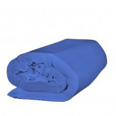 Dekomolton 10m Ballen hellblau, B1 300 cm breit