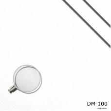 Dekomolton weiss, B1, Meterware, 300 cm breit