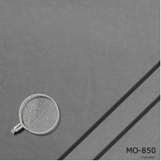 Dekomolton mittelgrau, B1, Meterware, 300 cm breit