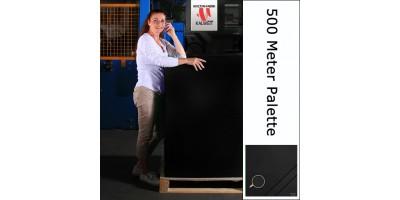 Bühnenmolton 400gr./qm  300 Meter Palette schwarz