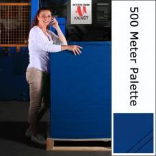 Bühnenmolton 500 Meter Palette blau