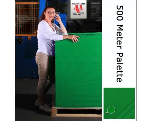 Bühnenmolton 500 Meter Palette grün