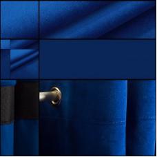 Samt Backdrop Farbe Blau geöst