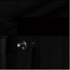 Samt Backdrop Schwarz geöst