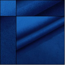 Samt blau Constantin Rollenware mit 30 Meter