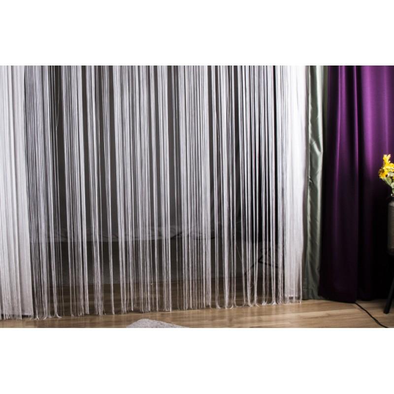 fadenvorhang. Black Bedroom Furniture Sets. Home Design Ideas
